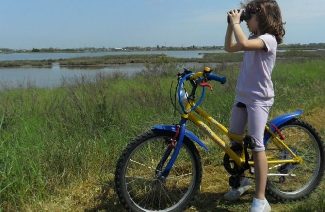 Italia. Ferrara in bicicletta con i bambini. http://www.familygo.eu/viaggiare_con_i_bambini/emilia-romagna/ferrara/scopriamo-ferrara-in-bicicletta-con-i-bambini.html