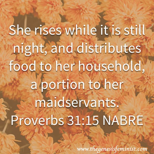 Early to bed, early to rise, makes you healthy, wealthy, and wise. The Proverbs 31 girl is definitely healthy, wealthy, and wife, as we've already begun to learn. Waking up early and starting…