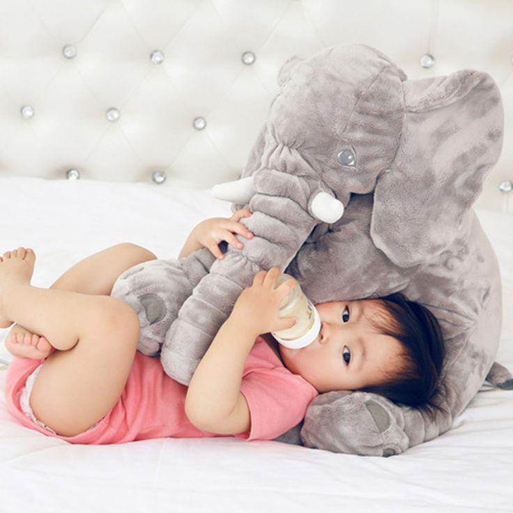 60 см слон плюшевые животные мягкая игрушка мягкая игрушка дети ребенок большой…