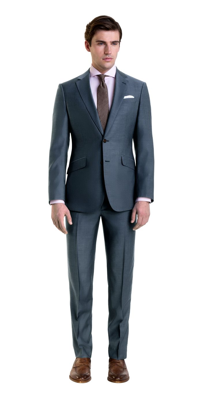 ca002f326d5 Light Charcoal Blue Custom Suit, 2018 | TO ΣΤΥΛ ΜΟΥ | Pinterest ...