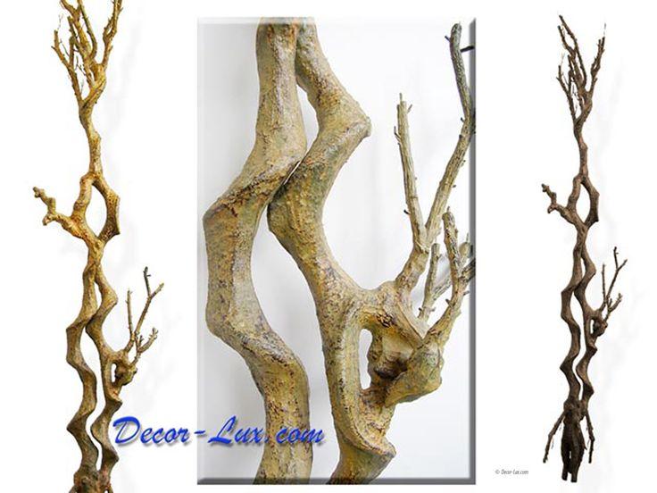 Ствол дерева витой коричневый, 165см.