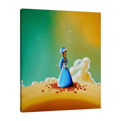 JaxsonRea 'A Simple Melody' by Cindy Thornton Painting Print on Wrapped Canvas Size: