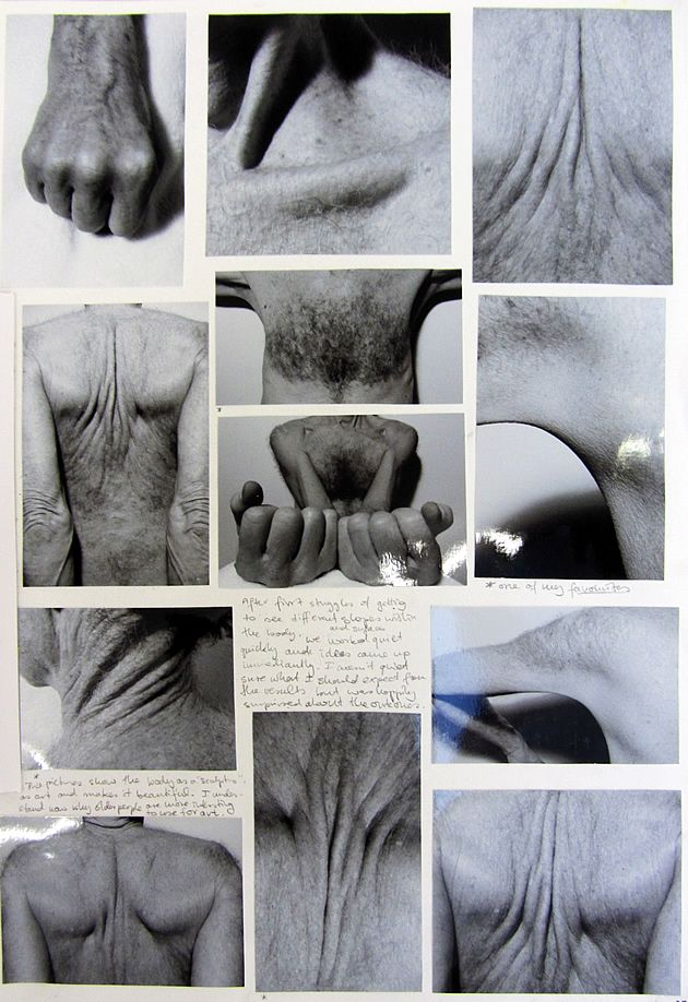 The intensity and intimacy of these images show the growth and strain the human body is put through,