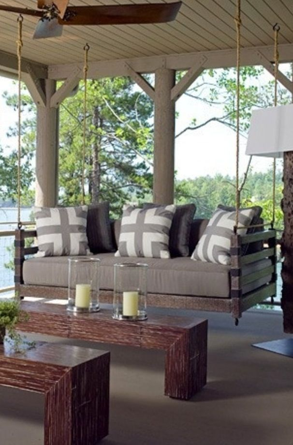 Really want an under deck swing!!