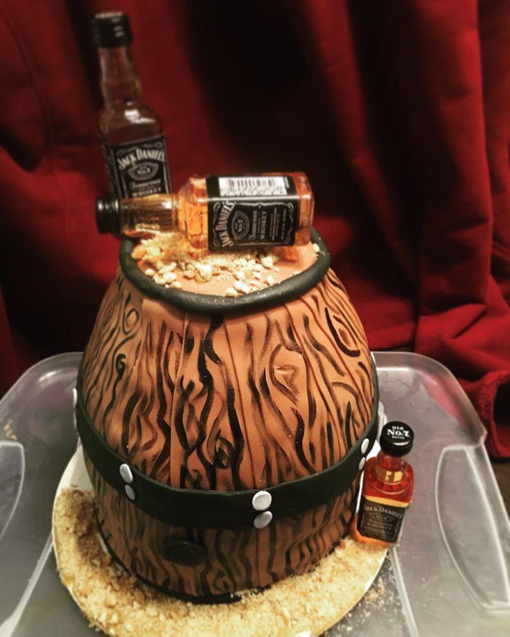 Jack Daniel's Grooms cake for coworkers rehearsal dinner!