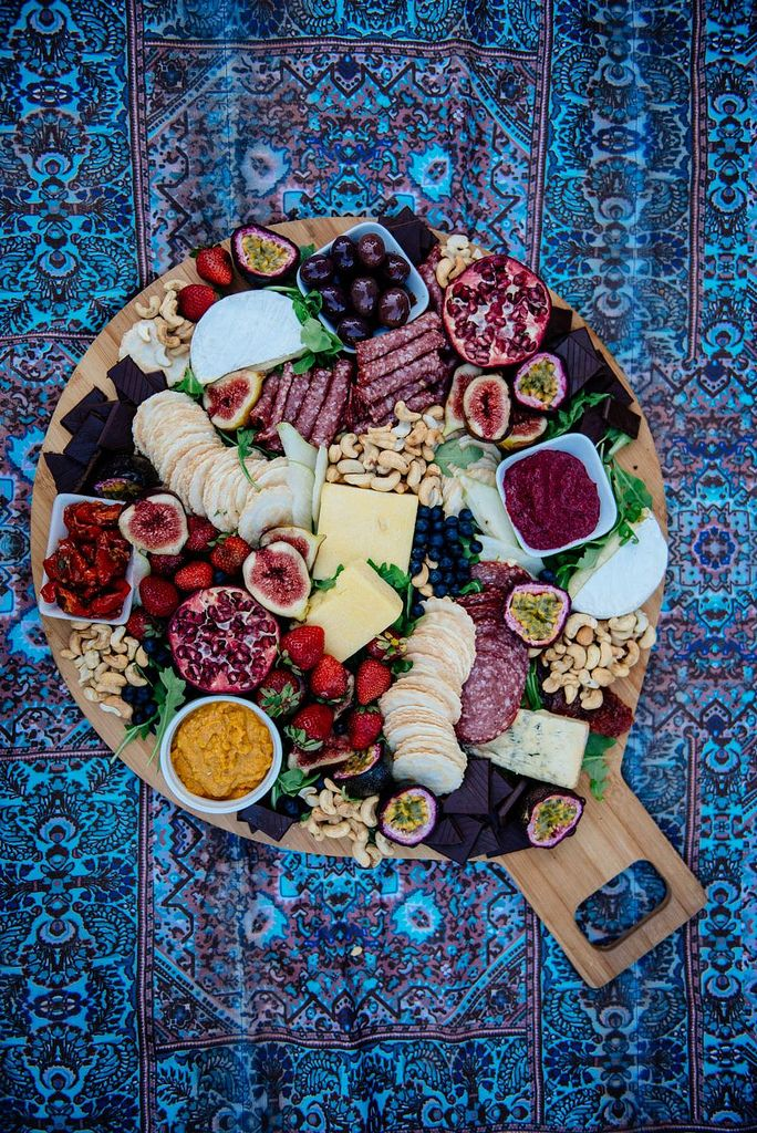 Steps for creating a seriously delicious platter