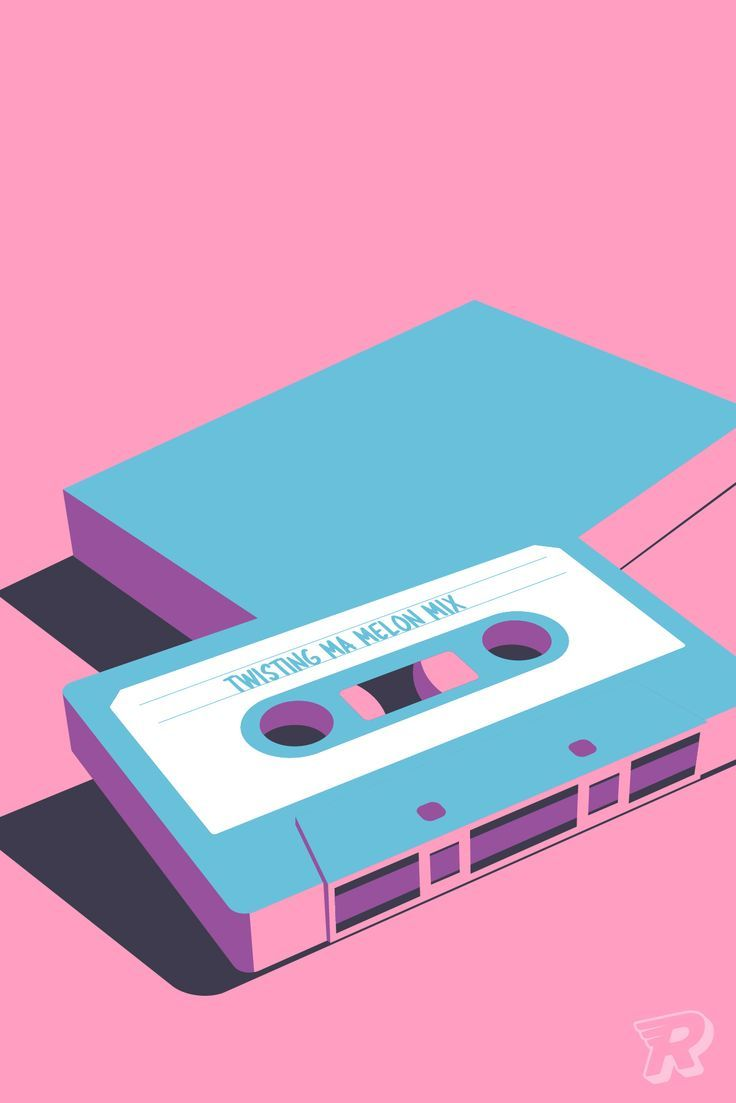 Personalised wall art / Create your own art / Custom retro mixtape poster / Modern design for 80s or 90s music lover / A3 A2 fine art print