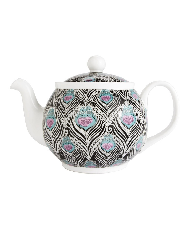Caesar Liberty Print Teapot: Stylish teapot by Liberty of London.