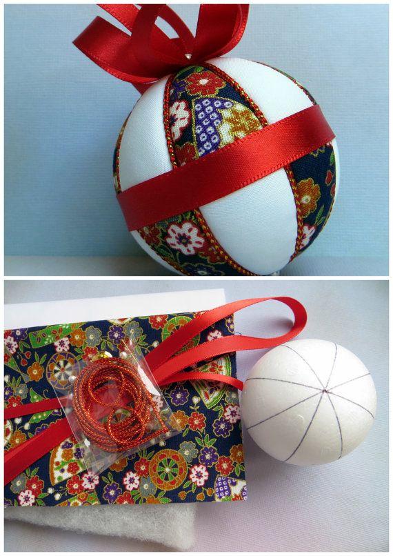 Decorating Ornament Balls 142 Best Kimekomi Images On Pinterest  Christmas Balls Christmas