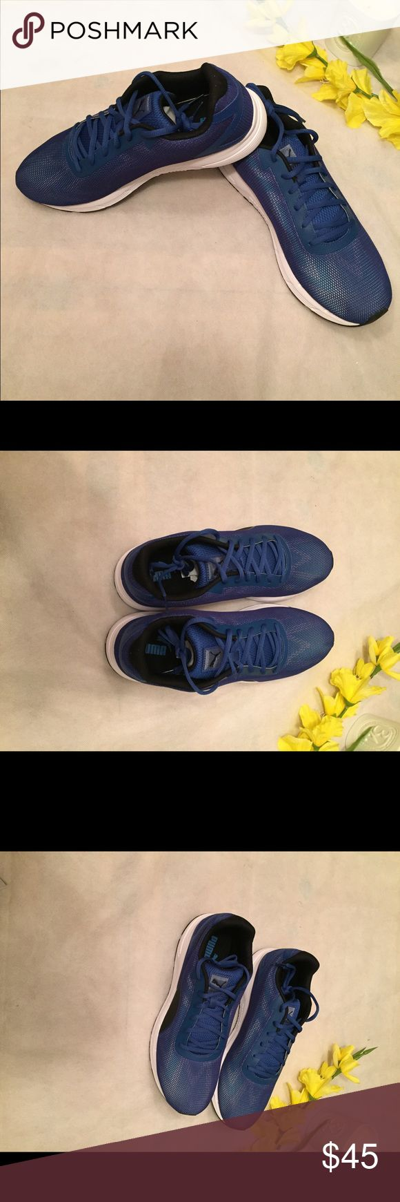 New men's Puma Running Shoes Size 10.5 Brand new men's Puma Running Shoes comes without a box see pictures for details any questions please send me a comment Puma Shoes Sneakers