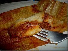 Tamales norteños de puerco en chile colorado. Hoja de maíz. Receta paso a paso…