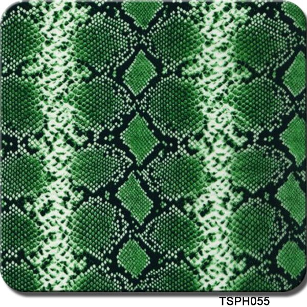 Cheap film will, Buy Quality film medical directly from China film sticker Suppliers: TSAUTOP TSH055 0.5m*6M Green Snake Skin Pattern Design Hydrographics Printing Film Aqua Dipping Water Transfer Printing Film