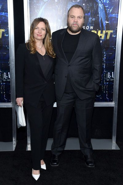 "Vincent D'Onofrio Photos Photos - Carin van der Donk (L) and Actor Vincent D'Onofrio attend the ""Run All Night"" New York Premiere at AMC Lincoln Square Theater on March 9, 2015 in New York City. - 'Run All Night' Premieres in NYC"