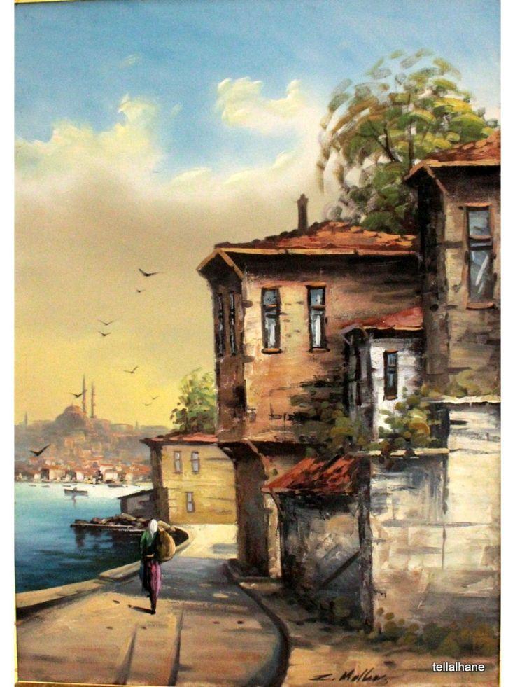 Yaglı Boya -İstanbul-Meydan tellalhane.com900 × 1200Buscar por imagen anadolu resimleri yağlı boya KAAN AYDAR - Buscar con Google: