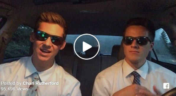 Recently, a video on Facebook of two missionaries rapping about the gospel has begun making the rounds, receiving nearly 100,000 views.