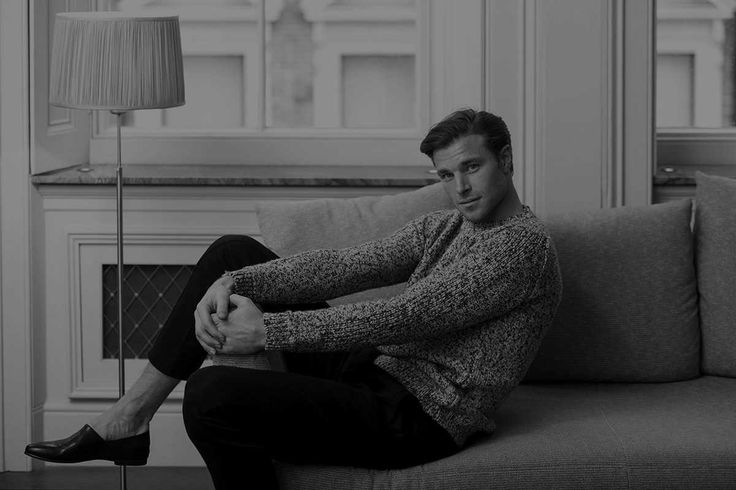 "David Frampton at Supa Model in London, in ""The Lepoard"", an editorial photographed at the Ivar's Show Room in Onslow Square, South Kensington, London, by Nicholas Andrews for The Rakish Gent Magazine - December 2016"