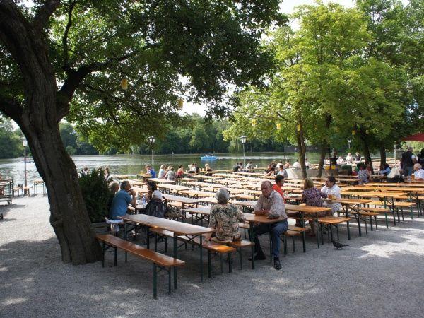Fabulous Seehaus beergarden in Munich M nchen