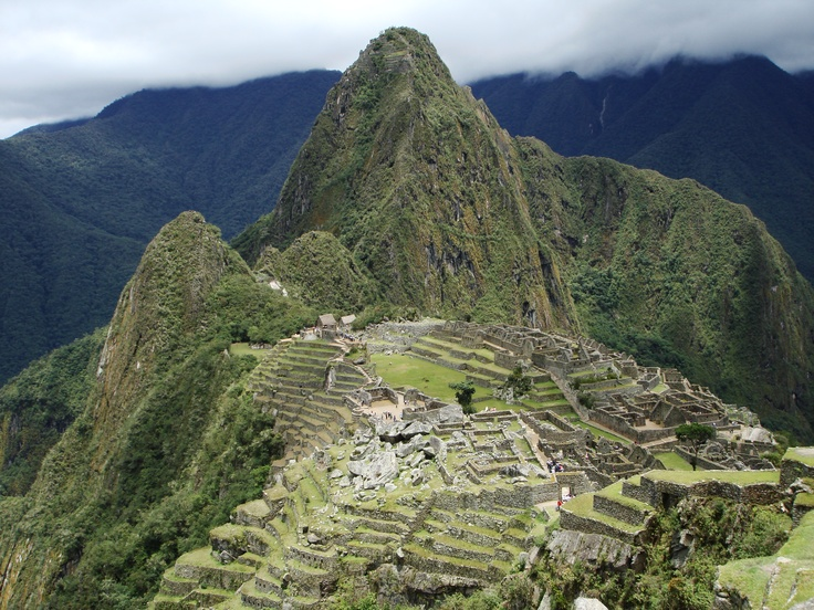 Machu Picchu - I have actually been there and would love to go back.  Absolutely breathtaking