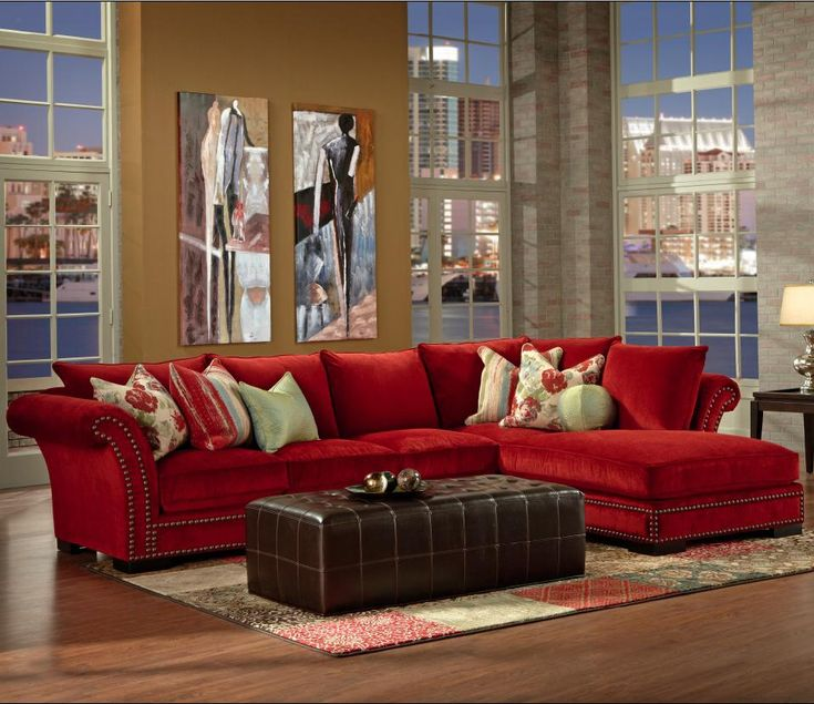 Living Room Ideas With Red Sectional: Best 25+ Red Sofa Ideas On Pinterest