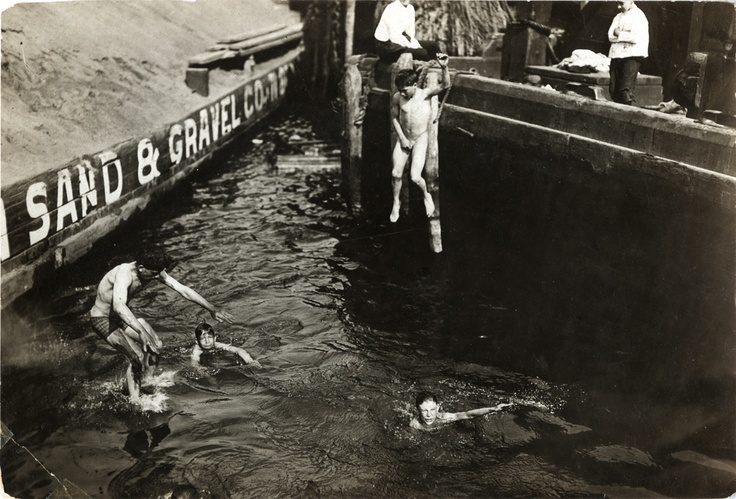 The Old Swimming Hole East River At The Foot Of 50th