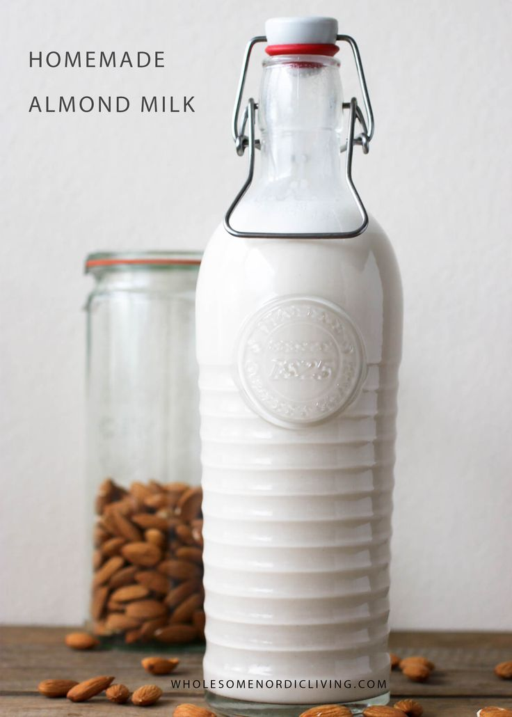 This almond milk is so simple, naturally sweetened and super smooth. There's nothing more satisfying than producing your own plant mylk. Homemade almond milk is packed with a lot more nutrition and flavor. No need for any processed alternatives –> this is the real deal.