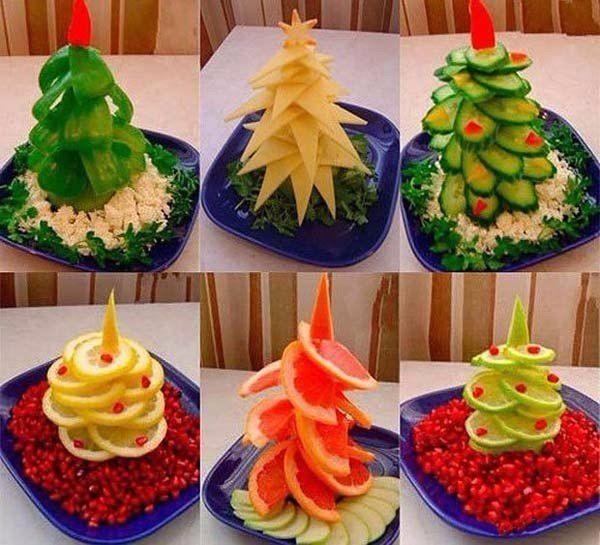 Beautiful ideas for Christmas snacks