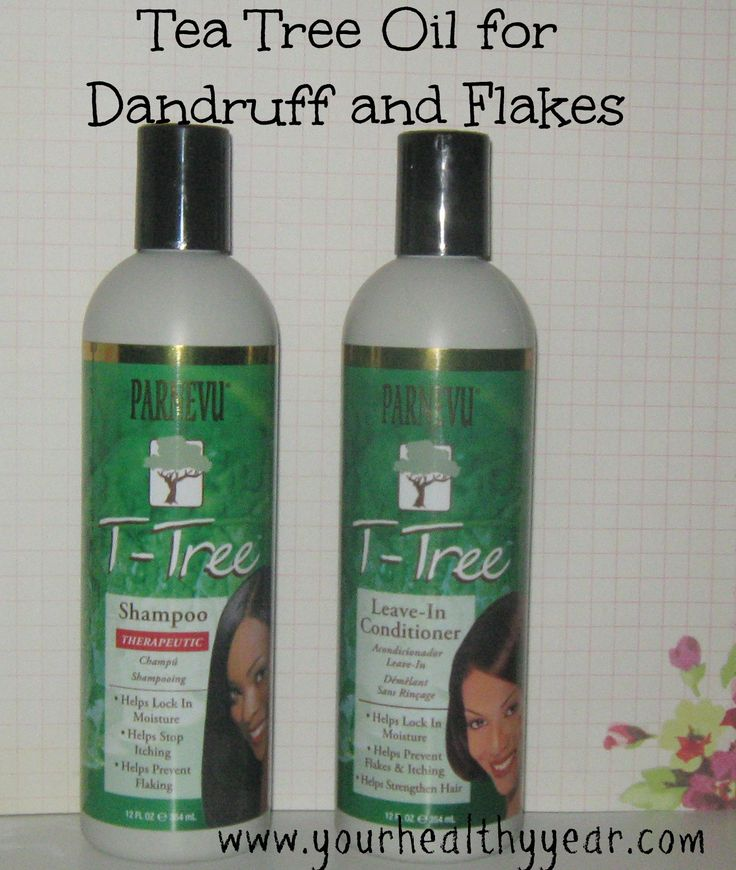 T-Tree Oil for Dandruff and Flakes