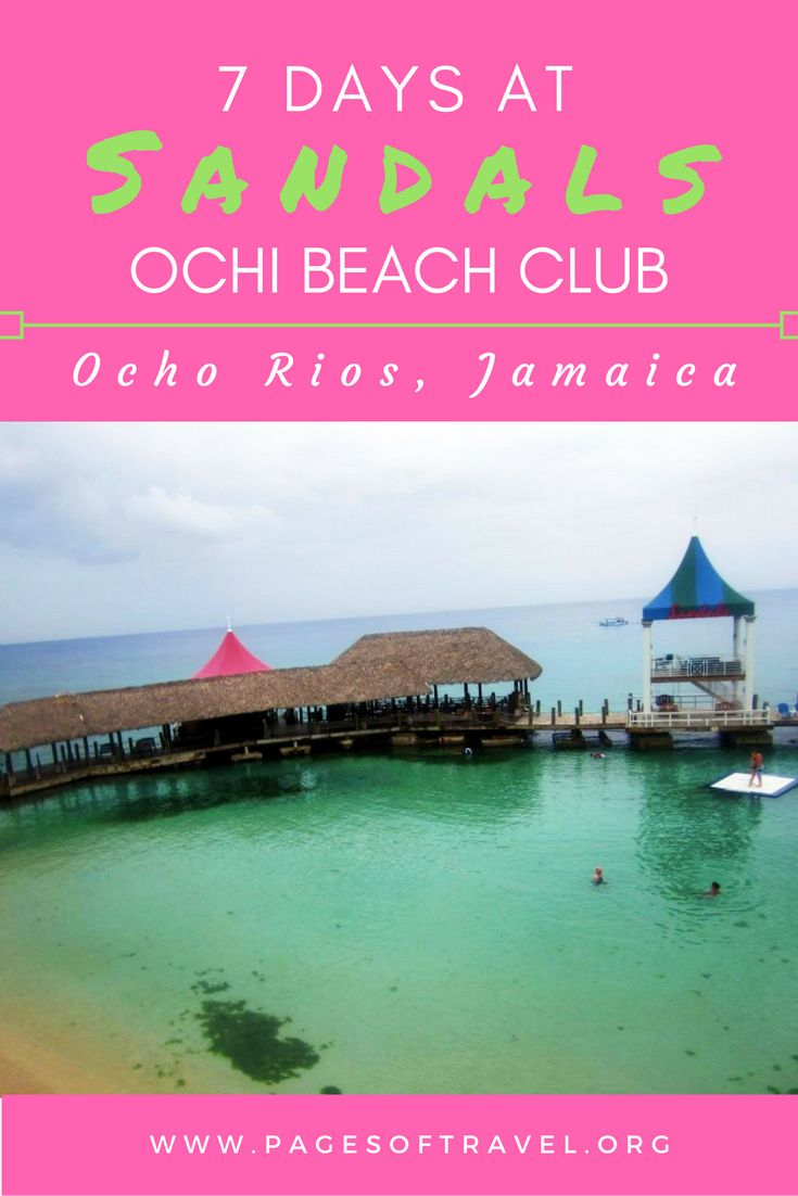 Ever been to an all-inclusive resort? Check out Sandals Ochi Beach Club and you'll want to book right away! www.pagesoftravel.org