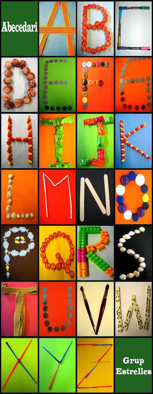 Het alfabet: ontwerpen en fotograferen