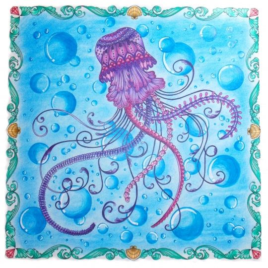 87 Best Johanna Basford Jellyfish Oo Images On Pinterest