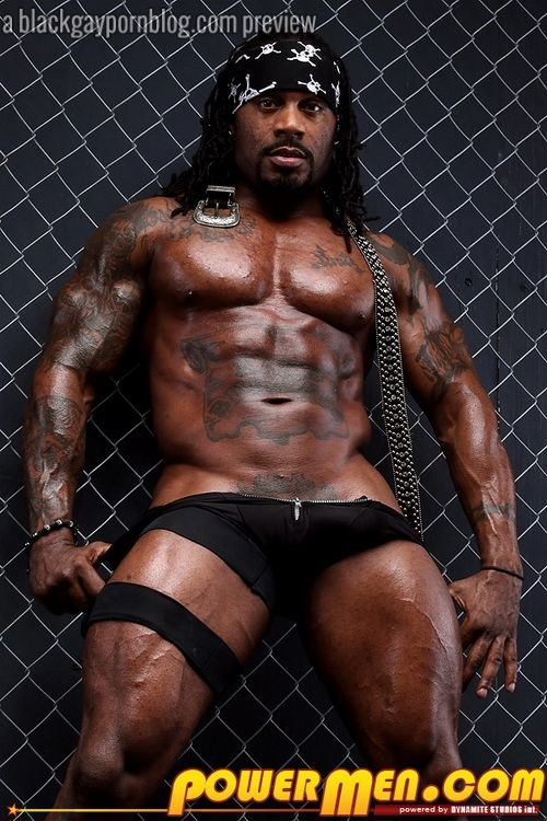 Cock black male stripper