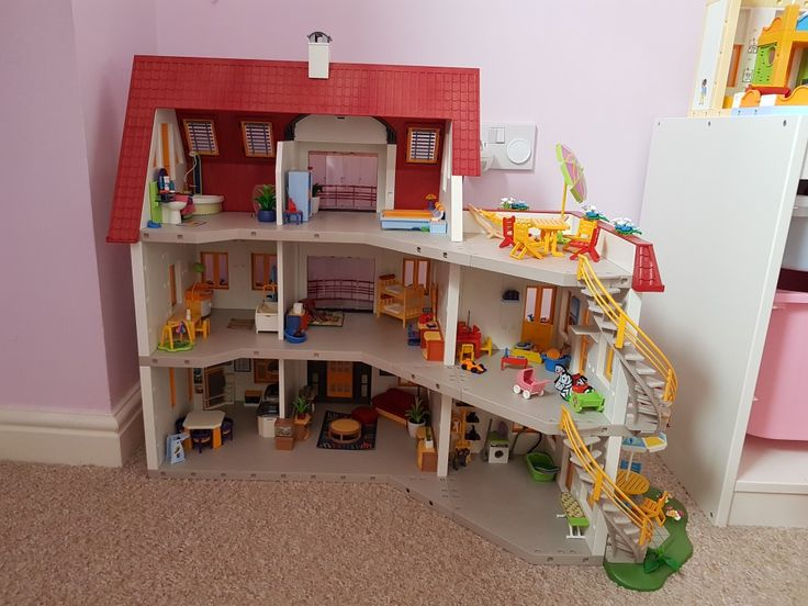 Pin by kirsty chard on playmobil extended suburban house for Playmobil kinderzimmer 4287