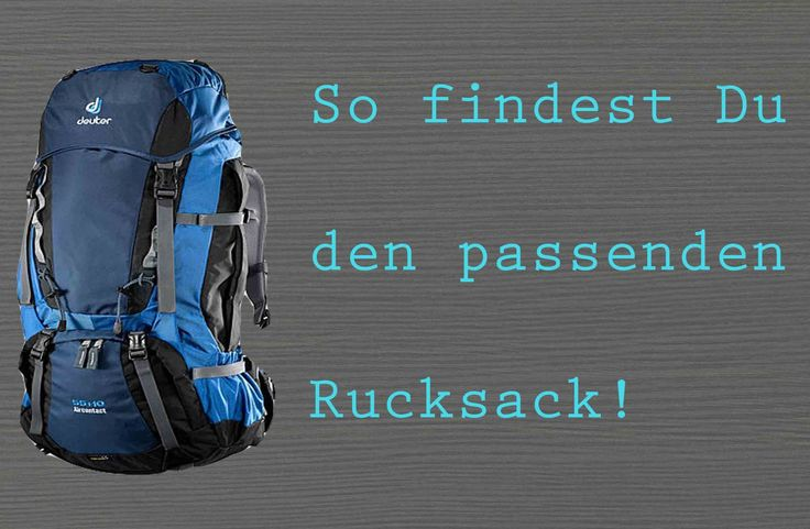 backpacking rucksack-kaufen