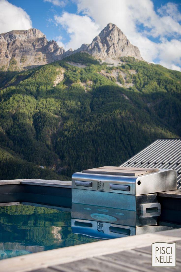9 best reportage photo une piscine de r ve entre les for Chauffage piscine dreamland