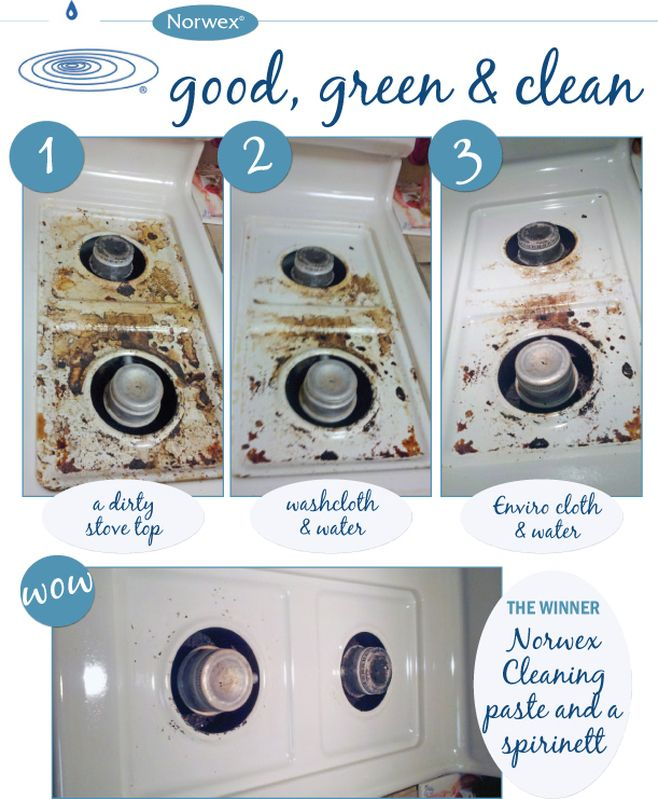 norwex stain remover instructions