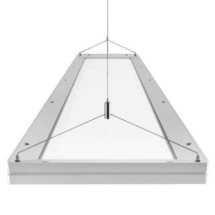 This is targeted more towards businesses but I think it would look awesome in the kitchen.     GE Lighting E-Catalogue   Luminaires & Systems   Indoor Luminaires   Suspended / Pendant   Lumination™ LED Luminaires   Lumination™ LED Luminaire - 1200mm x 300mm - Suspended