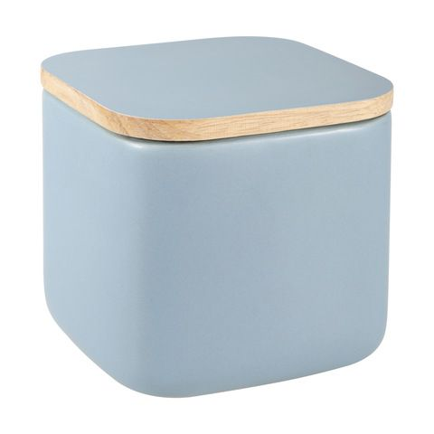 Blue Square Canister