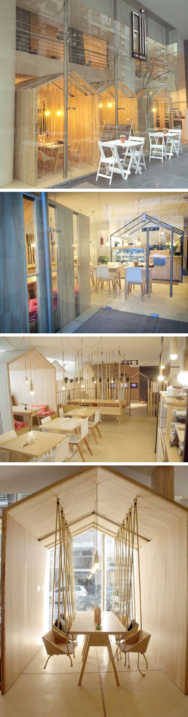 Fii Fun House - a clever, fun, children friendly restaurant in Buenos Aires, Argentina.