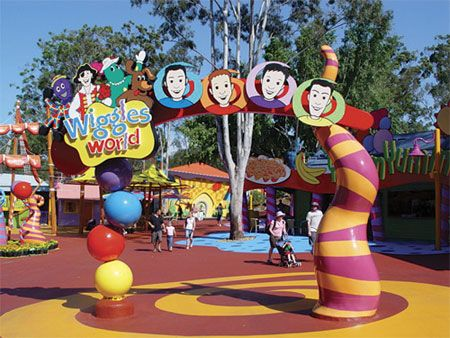 Wiggles World at Dreamworld, Gold Coast, Australia - If you would like to know anything about immigrating to Australia, please get in contact with us at www.fclawyers.com.au
