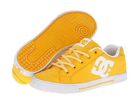 DC Chelsea TX W Women's Skate Shoes - Yellow