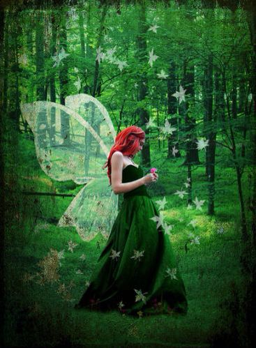 Forest nymph dress