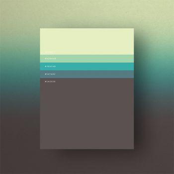 La agencia Dumma Branding creó increíbles afiches que muestran la vuelta a las paletas de colores minimalistas.