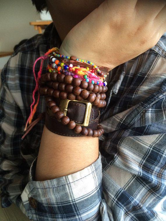 Colorful Crochet Necklace/Bracelet by thetopangadragon on Etsy