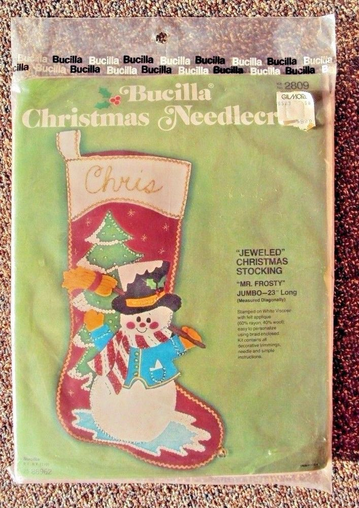 Christmas Stocking Cross Stitch