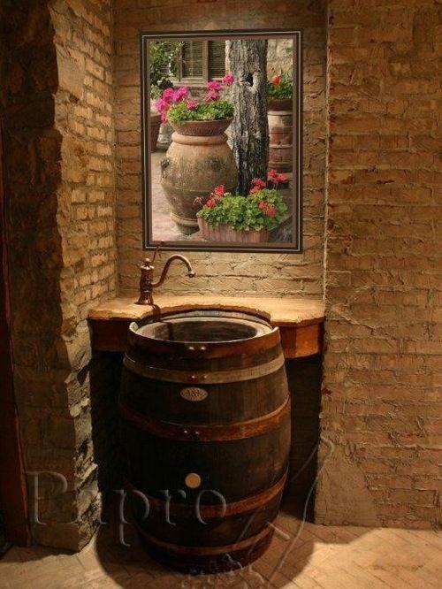 Best 20 Barrel Sink Ideas On Pinterest Rustic Bar Sinks