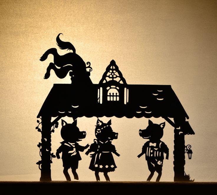Рисунки к театру теней