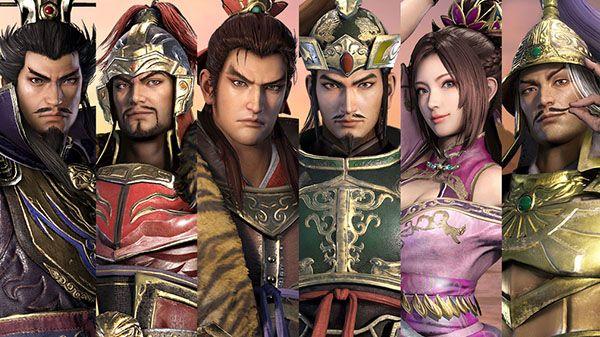 Dynasty Warriors 9 details Cao Cao, Sun Jian, Sun Quan, Liu Bei, Yuan Shao, and Diaochan