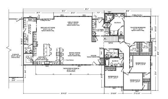 Best 25 ranch style floor plans ideas on pinterest for Ranch house plans with bedrooms together