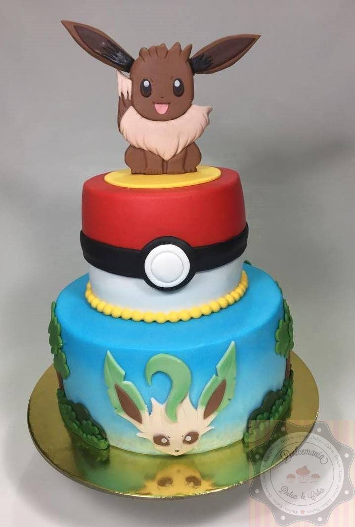 Bolo Pokemon Eevee Torta Pokemon Eevee Pokemon Eevee