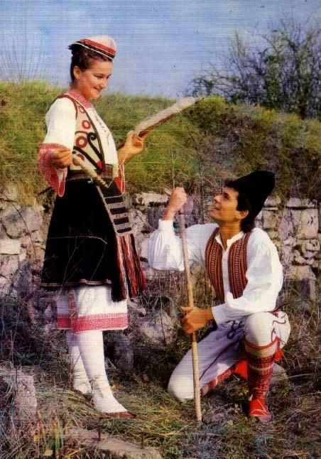 Serbian traditional costumes